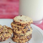 Nibby Chocolate Olive Oil Cookies: #Choctoberfest
