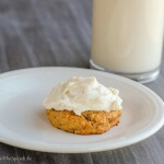 Pumpkin Drop Cookies with Pistachios and White Chocolate Chunks-3 Ways! A healthier breakfast cookie, an easy cream glazed make ahead treat, or for real indulgence, top with a whipped cream buttercream!