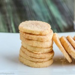 Cinnamon Dusted Orange Icebox Cookies: slice and bake cookies are easy to make ahead for the Holidays (or whenever); dip them in cinnamon and sugar before baking! The whole family loved these!
