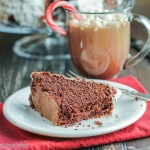 Peppermint Hot Chocolate Cake: #BundtBakers