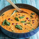 How to Stretch Thai Curry for Mulitple Meals: a Thai Yellow Curry becomes a ramen bowl, and with small changes becomes different enough to be exciting and no one complains about leftovers! A fantastic dinner--Thai yellow curry paste recipe included!