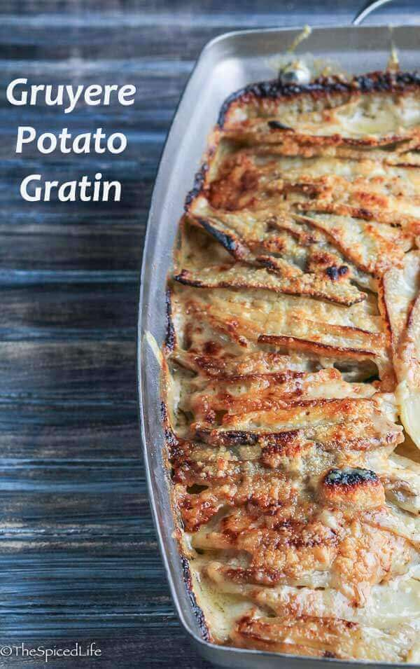 Gruyere Potato Gratin
