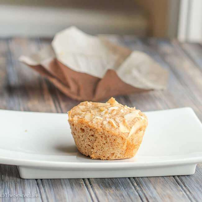 Coconut Lime Mango Muffin