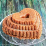 Rosemary Bourbon Orange Bundt Cake: #BundtBakers