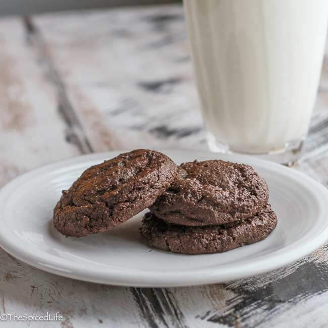 Triple Chocolate Buckwheat Cookies--whole grain and gluten free!
