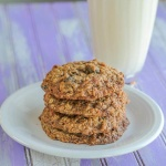 Brown Sugar Maple Oatmeal Cookies with Dried Cherries--or raisins!