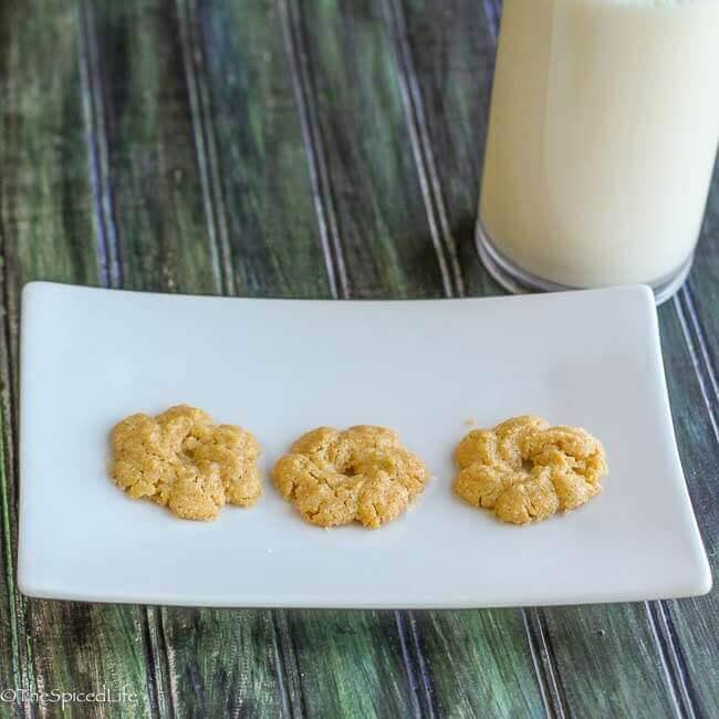 Biscotti di Meliga (Italian Lemon Cornmeal Spritz Cookies)