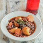 Plum Braised Beef with Potatoes