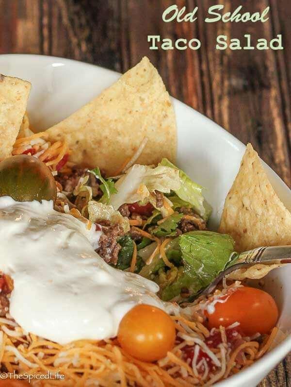 Old School Taco Salad