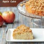 Upside Down Apple Cake