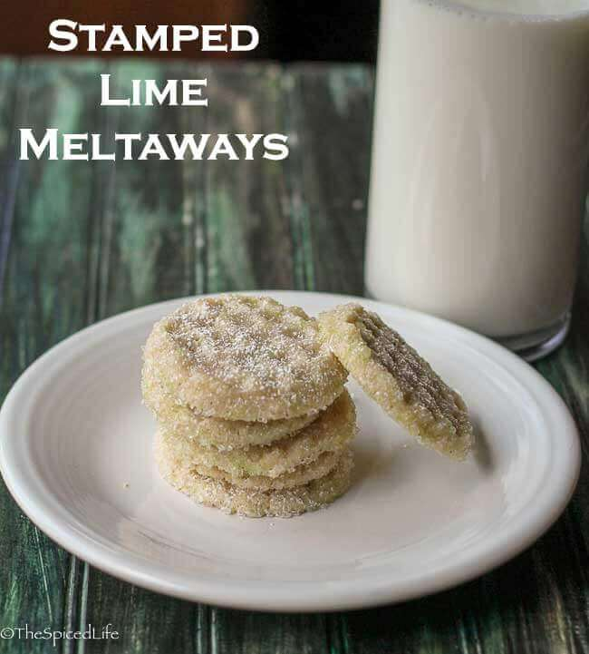 Stamped Lime Meltaways