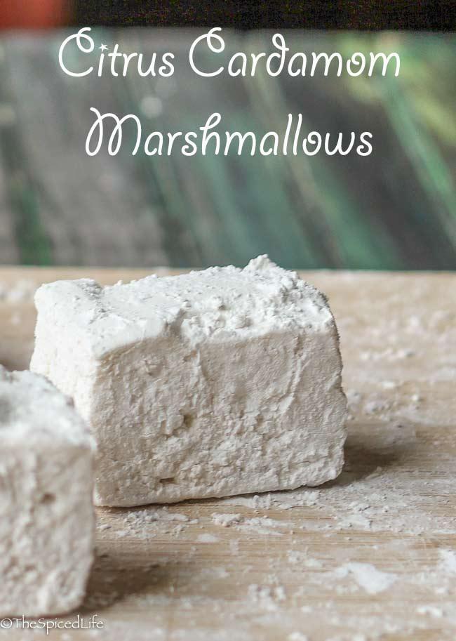 Citrus Cardamom Marshmallows