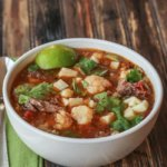 Mexican Beef Stew with Vegetables in the Slow Cooker