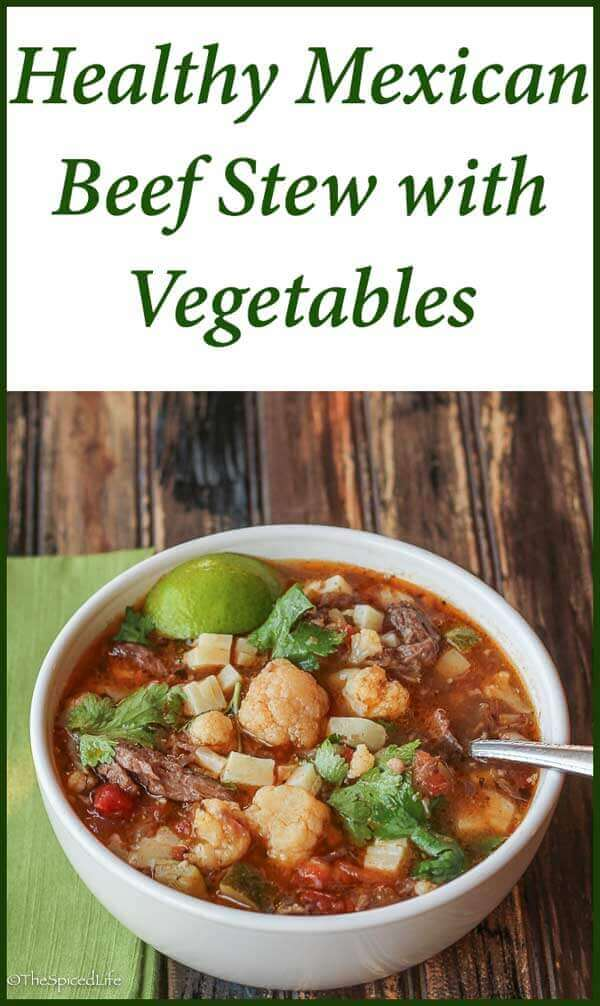 Mexican Beef Stew with Vegetables