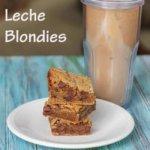Dulce de Leche Blondies