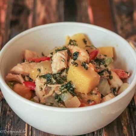 Caribbean Thai Curry
