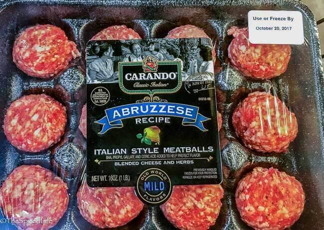 Carando Abruzzese Meatballs