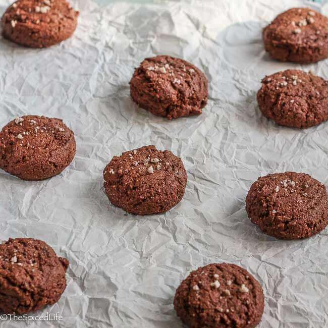 Gluten Free Chocolate Cookies are nutty, easy and delicious, and because they are naturally gluten free you do not need any unusual ingredients to make them.
