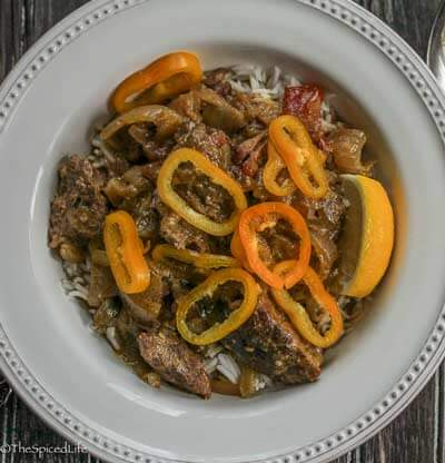 Sri Lankan Beef Curry for the slow cooker