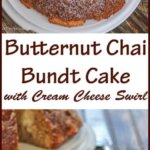 Butternut Chai Bundt Cake with Cream Cheese Swirl
