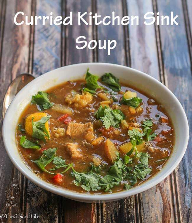 Curried Kitchen Sink Soup