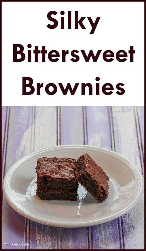 Silky Bittersweet Brownies