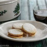 Alfajores (South American sandwich cookies with dulce de leche)