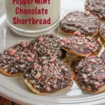 Peppermint Chocolate Shortbread