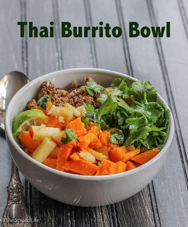 Thai Burrito Bowl