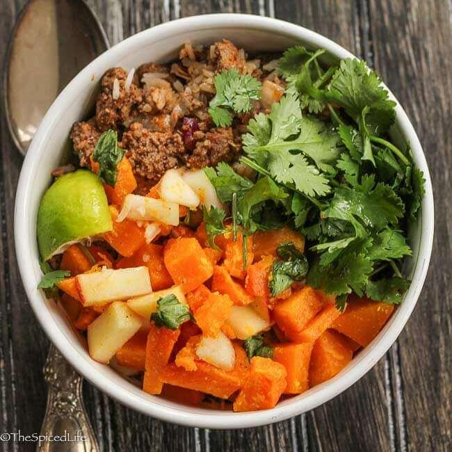 Thai Burrito Bowl