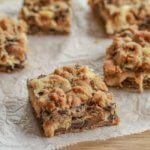 Chocolate Chip Cookie Cheesecake Bars: #CreativeCookieExchange