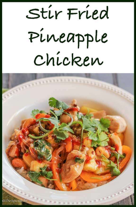 Stir Fried Pineapple Chicken