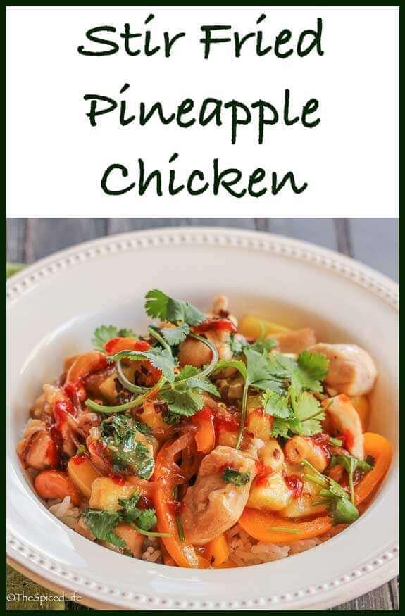 Stir Fried Pineapple Chicken