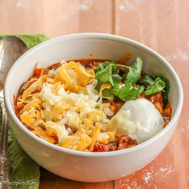 Traditional Chili Midwestern Style The Spiced Life
