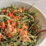 Roasted Cauliflower and Lentil Power Salad