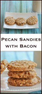 Pecan Sandies with Bacon