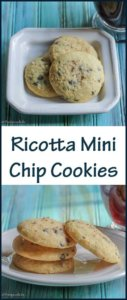 Ricotta Mini Chip Cookies