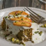 Peach, Pistachio and Lime Breakfast Cake