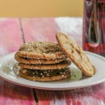 Spiced Molasses Amber Ale Cookies