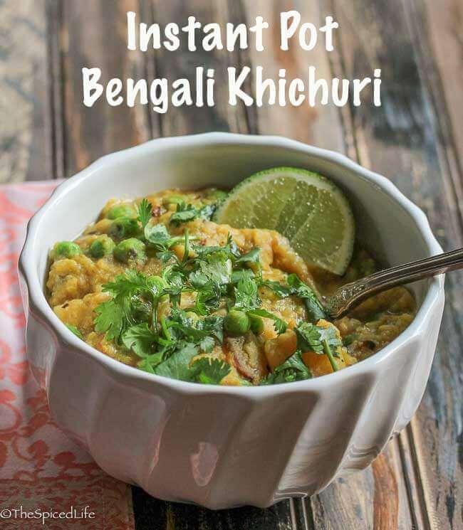 Bengali Khichuri (Red Lentil Risotto)