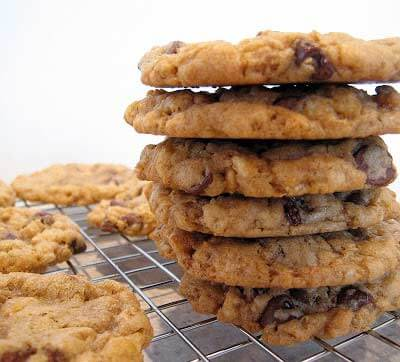 Crispy Rice Chocolate Chip Cookies