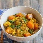 Cashew Coconut Chicken Curry