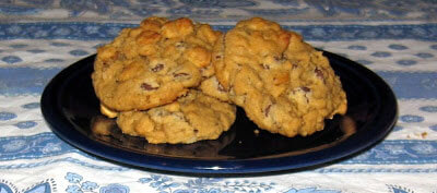 Cheerio Chocolate Chip Cookies