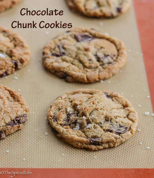 Chocolate Chunk Cookies--and a collection of chocolate chip cookie recipes