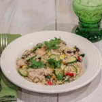 Mojo Chicken and Rice: using leftover rice
