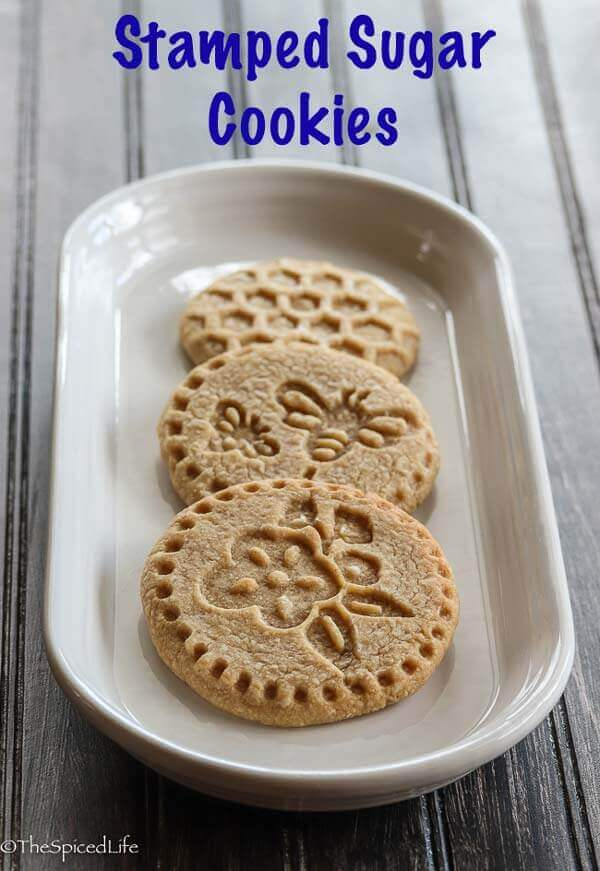Stamped Sugar Cookies