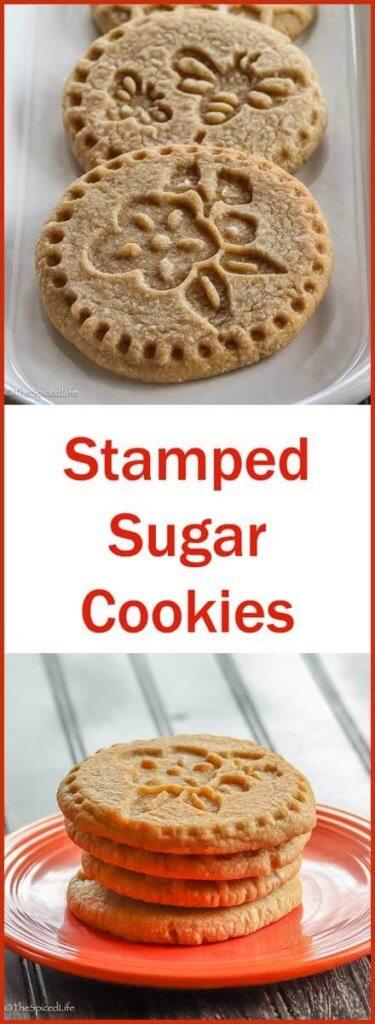 Stamped Sugar Cookies