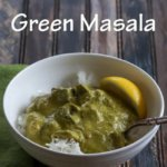 Beef with Green Masala