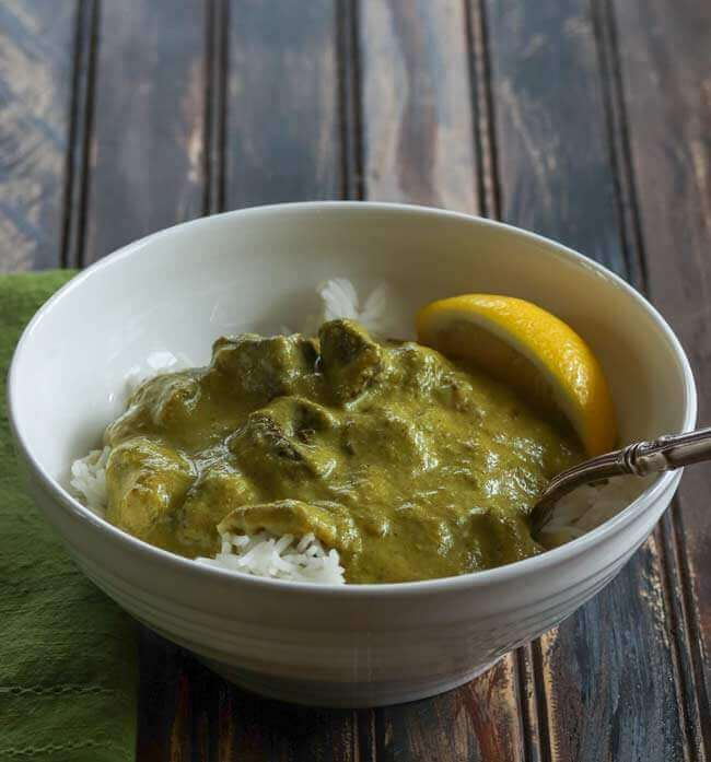 Indian Beef with Green Masala