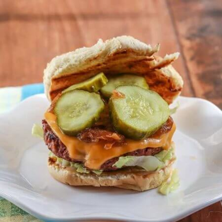 Social Burger from Peached Tortilla Cookbook